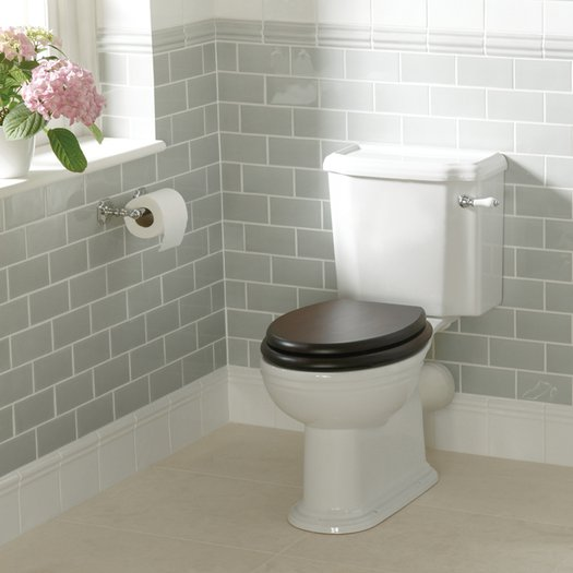 Victorian toilet in the classic style