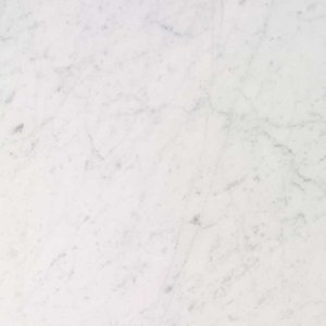 marble: Carrara white, softened