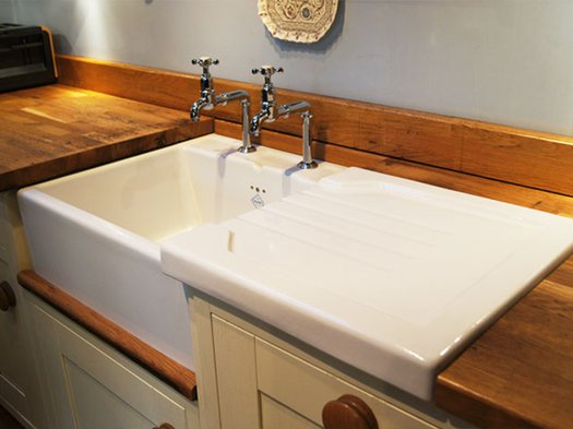 Ribblesdale kitchen sink for the cottage kitchen