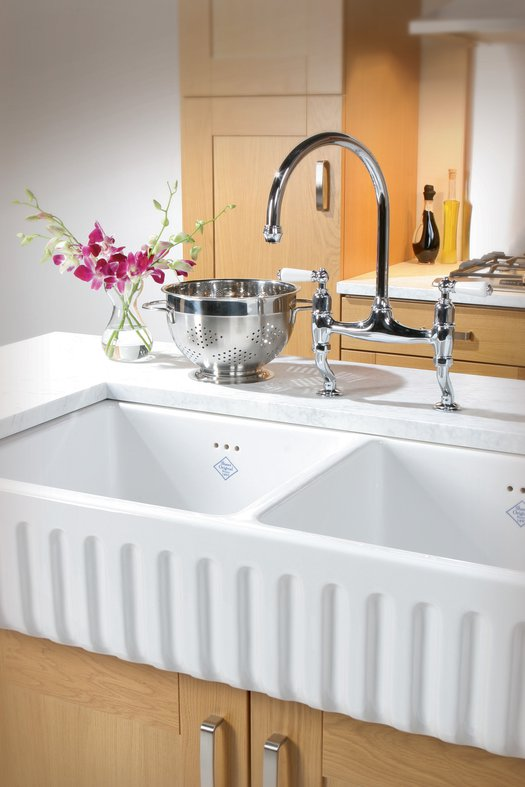 Country style kitchen sink Ribchester 800