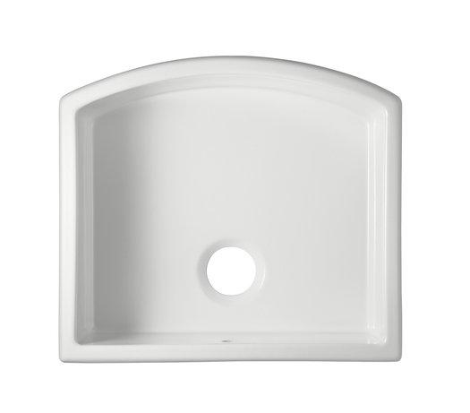 Waterside kitchen sink top view