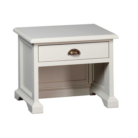 Retro stool with drawer for the cottage bathroom