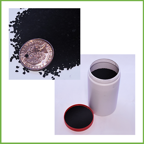 Small Particle Lignite Carbon