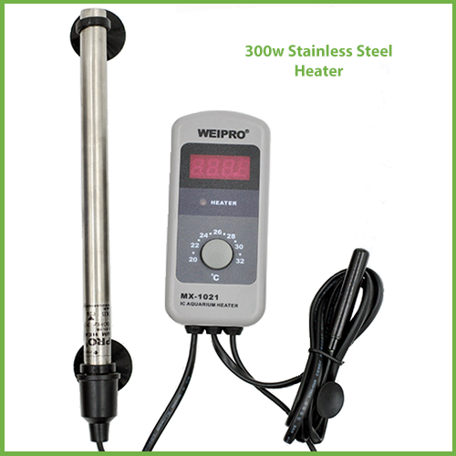 MX-1021 300w Stainless Steel Heater