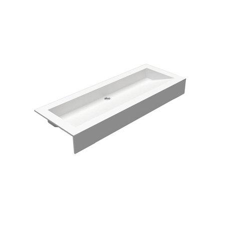 Pure White wastafeltablet 0750.01