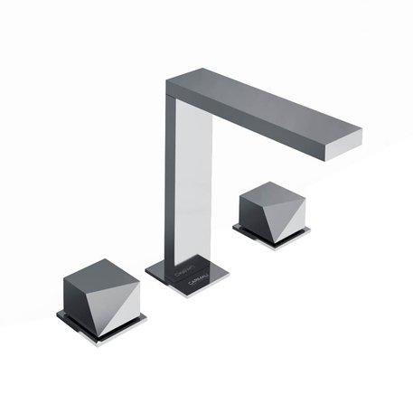 Robinet pour lavabo 3 trous moderne 460.0-DSD0501