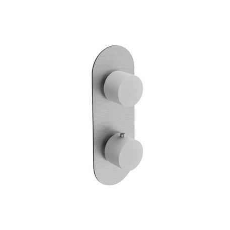 Mitigeur thermostatique de douche Scull 3 fonctions 460.0-SCL4107