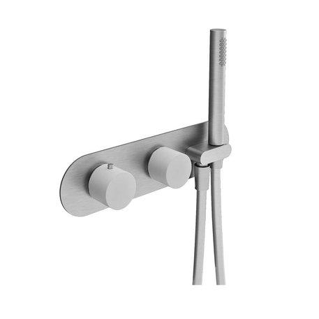 Robinet de douche thermostatique Scull 3 fonctions avec douchette