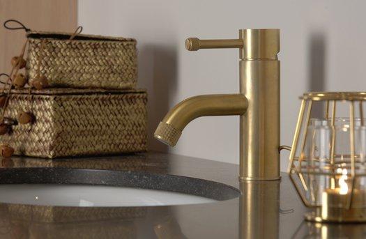 Robinet lavabo tendance à levier unique