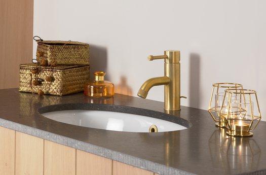 Robinet élégant et contemporain pour lavabo