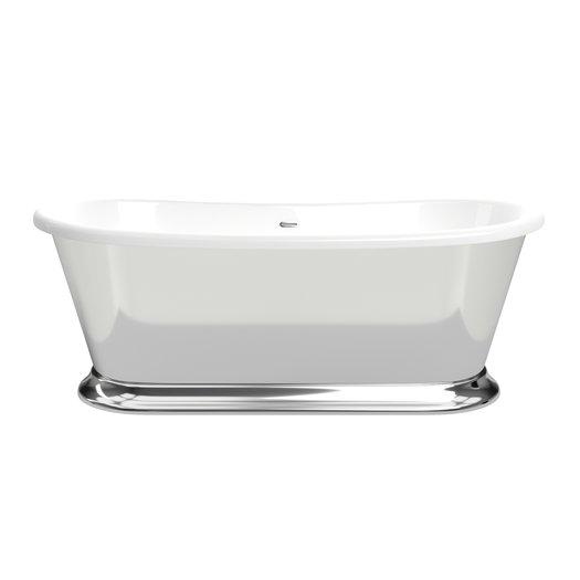 Majestic Silver vrijstaand bad