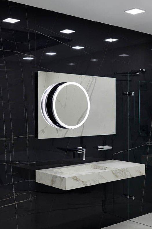 Miroir DotPlus12070 dans une salle de bains design