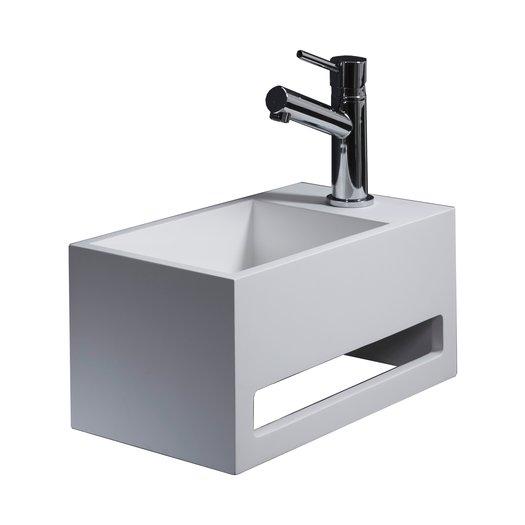 Lave-mains 925.FLM03 en Solid Surface