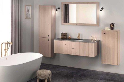 Lodge landelijk badkamer ensemble