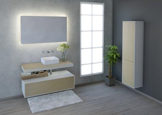Ensemble Lounge pour la salle de bains contemporain