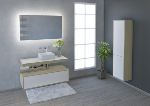 Lounge - Meuble de salle de bains branchée