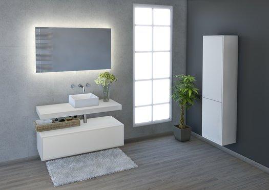 Élégante salle de bains moderne