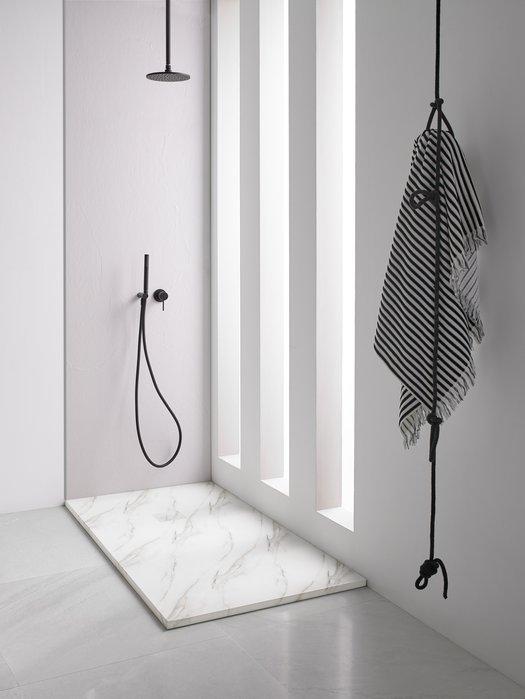 Receveur de douche Mirage avec impression marbre