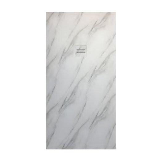 Receveur de douche Mirage avec AcryPrint style marbre