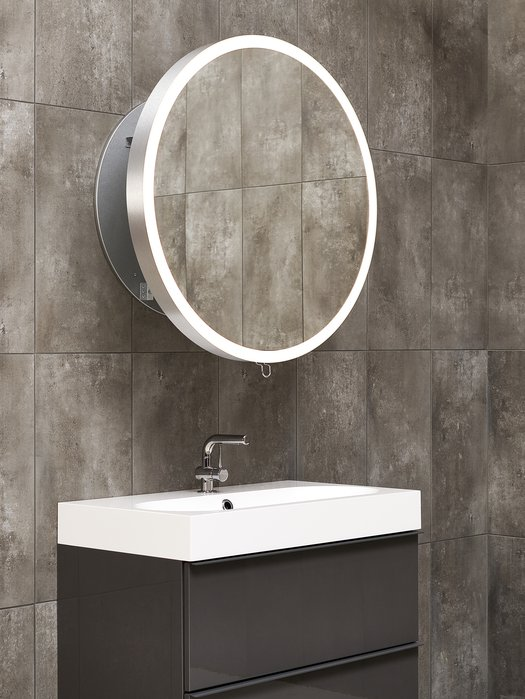 Miroir rétractable 30 cm vers l'avant, ergonomique