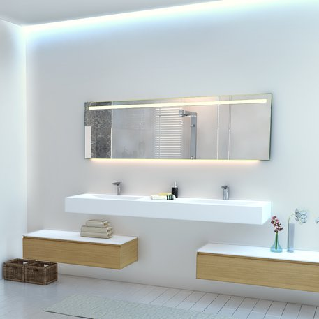 Miroirs LED de qualité sur mesure