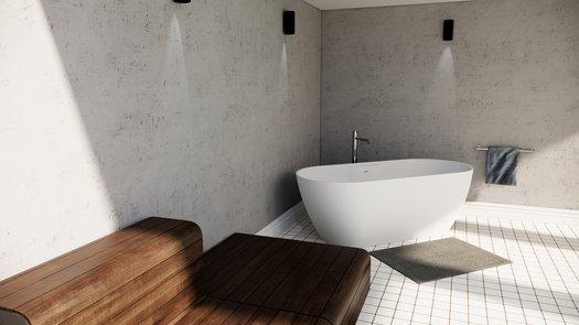 Titanium Bad in Duroxiet voor de trendy badkamer