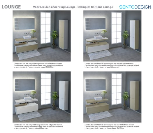 Lounge - Exemples finitions