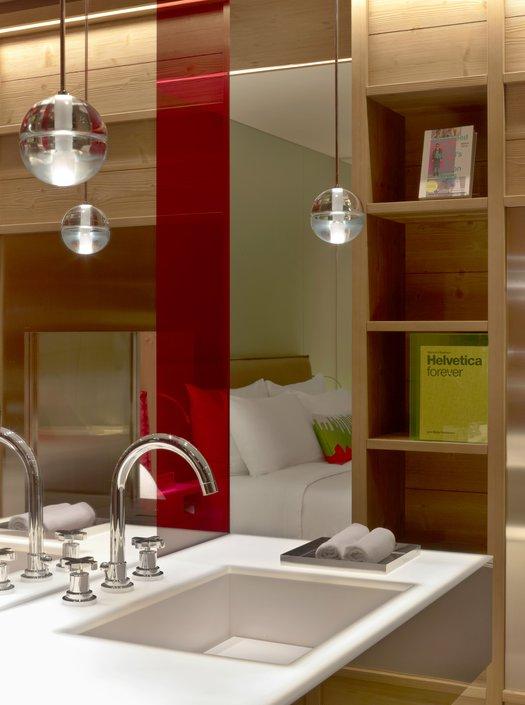 Robinet contemporain chambre d'hotel