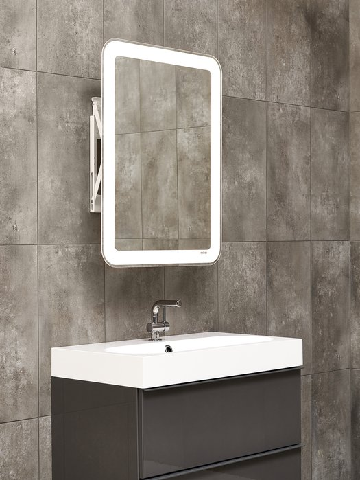 Miroir contemporain pour salle de bains branchée 02