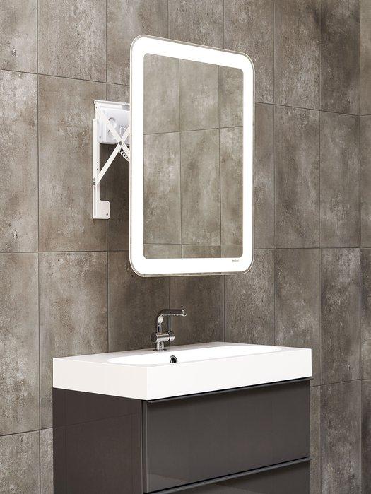 Miroir contemporain pour salle de bains branchée 03