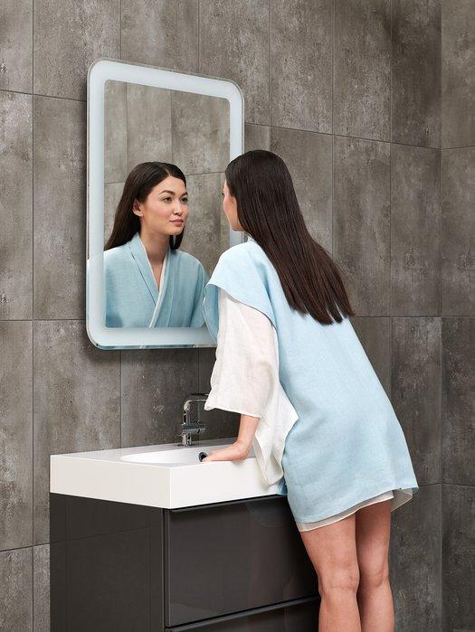 Miroir LED extensible pour une position ergonomique 01