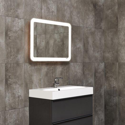 Miroir LED extensible pour une position ergonomique 80 x 60 cm