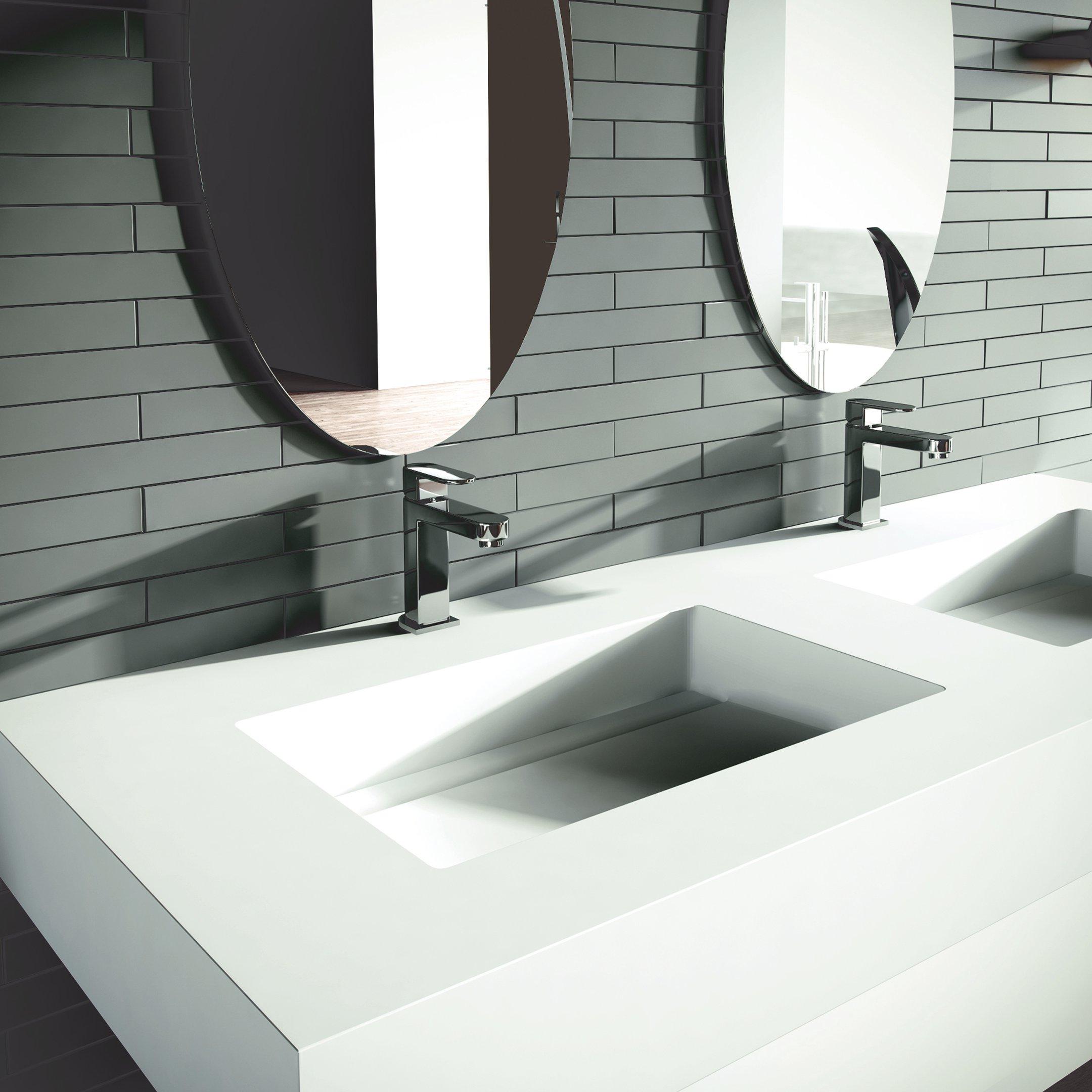 Espace Entre 2 Vasques puzzle wastafeltablet - y04