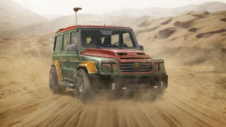 Carwow: Boba Fetts Mercedes G-Wagen