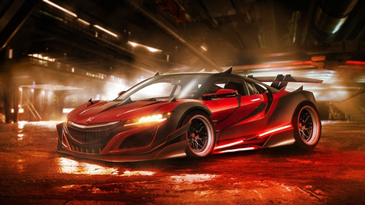 Carwow: Darth Maul Honda NSX