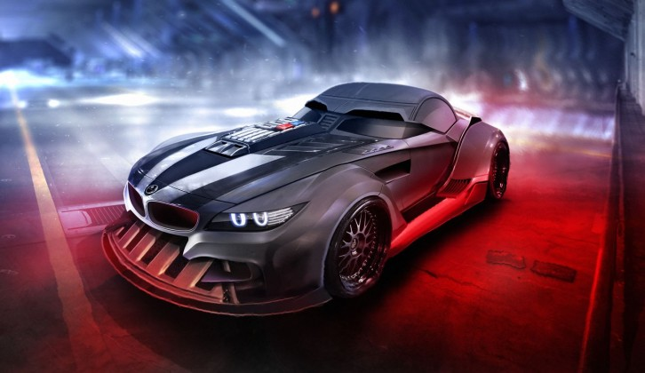Carwow: Darth Vaders BMW Z4