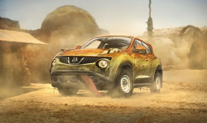 Carwow: Der Nissan Juke von Jar-Jar Binks