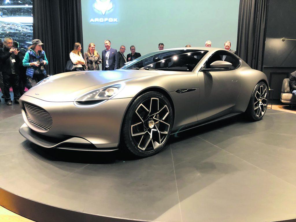 Une voiture de sport électrique Suisse - Revue Automobile