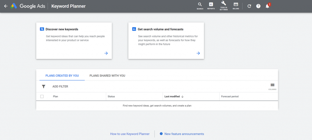 Free Digital Marketing Tools #3 - Best free SEO tool for affiliate marketers - Google Keywords Planner