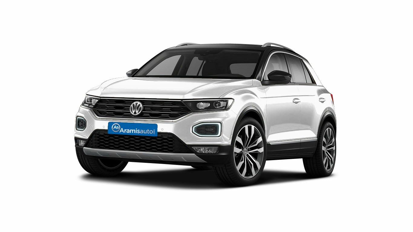 volkswagen t roc 4x2 et suv 5 portes essence 1 5 tsi 150 bo te manuelle finition. Black Bedroom Furniture Sets. Home Design Ideas