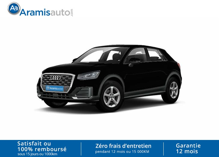 voiture audi q2 1 4 tfsi 150 auto sport sur quip gps occasion essence 2016 10 km 29700. Black Bedroom Furniture Sets. Home Design Ideas
