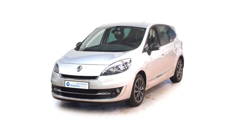 renault grand scenic 3 monospace 5 portes diesel dci 130 fap bo te manuelle finition. Black Bedroom Furniture Sets. Home Design Ideas