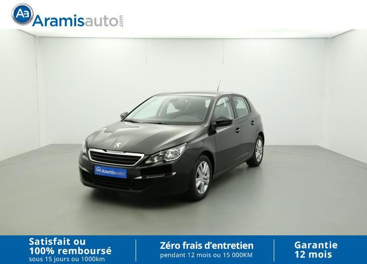 voiture peugeot 308 1 6 hdi 92ch bvm5 active surequip occasion diesel 2015 19398 km. Black Bedroom Furniture Sets. Home Design Ideas