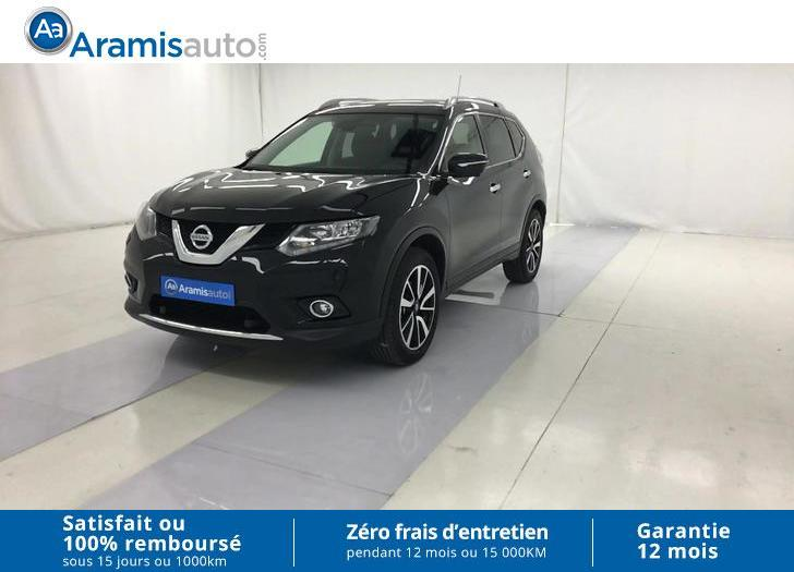 voiture nissan x trail 1 6 dci 130 all mode n connecta 7pl occasion diesel 2016 22698 km. Black Bedroom Furniture Sets. Home Design Ideas