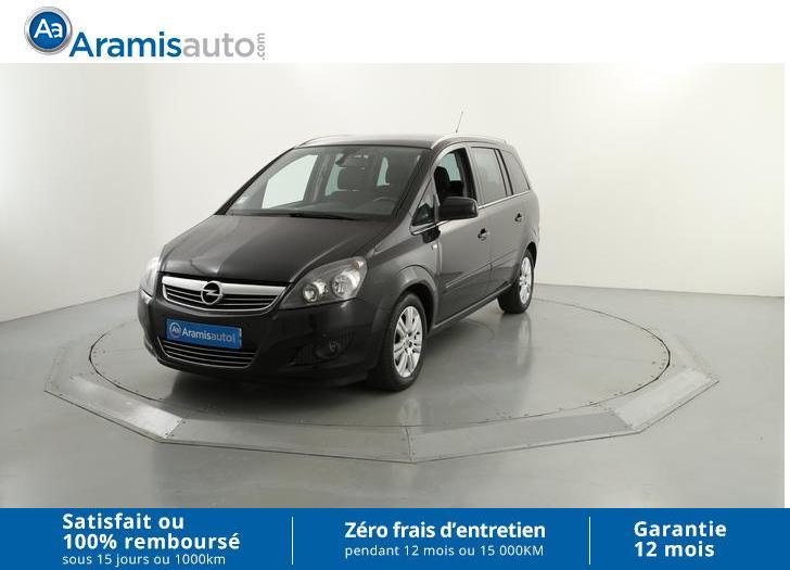 voiture opel zafira 1 7 cdti 125 ch fap connect pack occasion diesel 2012 113437 km. Black Bedroom Furniture Sets. Home Design Ideas