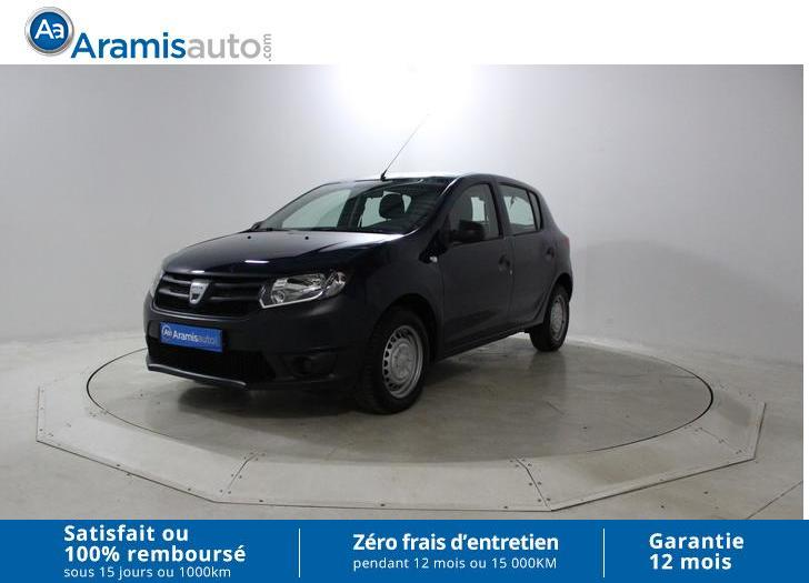 voiture dacia sandero 1 2 16v 75 occasion essence 2014 35600 km 7990 bruges gironde. Black Bedroom Furniture Sets. Home Design Ideas