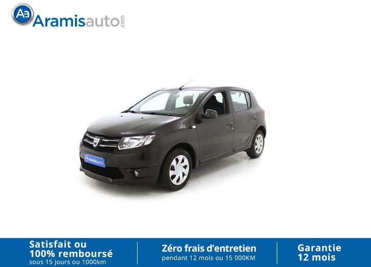 voiture dacia sandero 1 2 16v 72ch laur ate occasion essence 2013 37591 km 8690. Black Bedroom Furniture Sets. Home Design Ideas