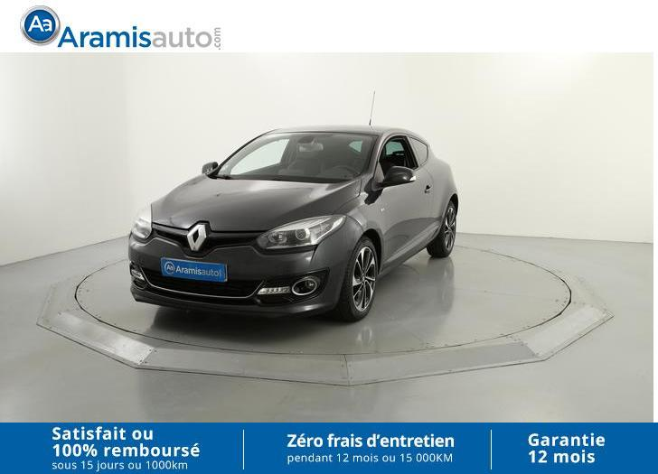 voiture renault m gane iii coup dci 130 bose occasion diesel 2014 38593 km 15290. Black Bedroom Furniture Sets. Home Design Ideas