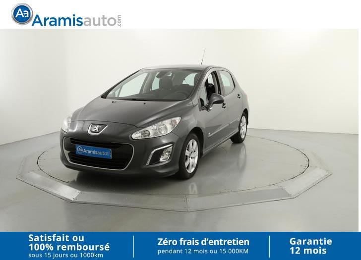 voiture peugeot 308 1 6 e hdi 115ch fap style gps occasion diesel 2013 71705 km 11790. Black Bedroom Furniture Sets. Home Design Ideas