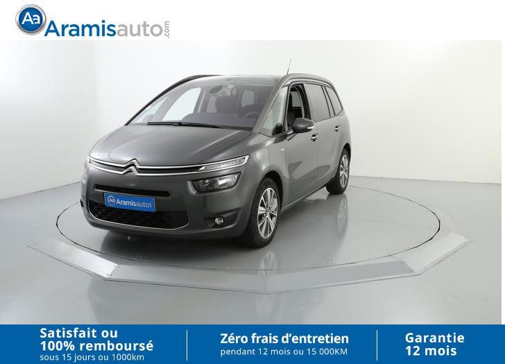 voiture citro n grand c4 picasso 1 6 hdi 115 bvm6 exclusive occasion diesel 2014 29962 km. Black Bedroom Furniture Sets. Home Design Ideas